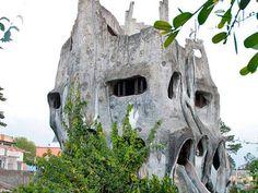Crazy House, hotel em formato de árvore no Vietnã