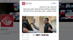 Gagal Uji Coba Rompi Anti Tikam, Reporter TV Israel Justru Kena Tusukan