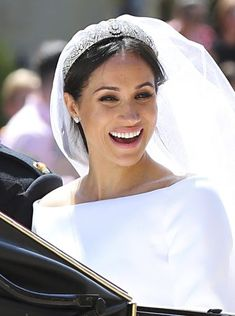 Meghan Markle leaves with Prince Harry after their