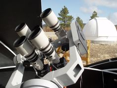 "New Mexico Skies Remote Telescope Hosting - The ""transparency"" of our skies is phenomenal. Our 7300' altitude puts you well above most of the atmospheric borne pollution and particulate matter. The Sacramento Mountains are on the high desert and our skies benefit from the clean, dry air associated with desert environments. Fog is very rare. Airborne pollen content is usually low."