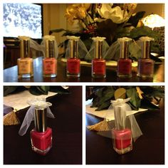 Little Bride nail polish... Prizes for a bachelorette party game