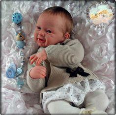 """Baby """"Phönix"""" Bausatz Andrea Arcello Reborn Reallife Baby Baby/ Doll"""