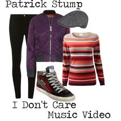 """""""I Don't Care (Patrick Stump)"""" Fall Out Boy inspired outfit"""