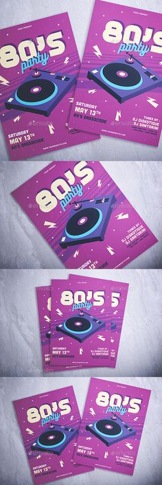 """Buy Party Flyer by miaodrawing on GraphicRiver. Party Flyer"""" is a right choice for every Disco Music Events, Parties, Festivals, or anything you want!"""