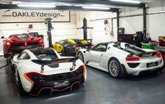 Take your pick... #ItsWhiteNoise #OakleyDesign #Hypercars @skullsandsnaps by itswhitenoise