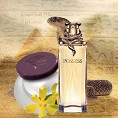 Possess...Miris legende...Zavodljiv miris koji utjelovljuje provokativnu privlačnost Kleopatre. Protkan primamljivim notama ylang ylang, nikoga ne ostavlja ravnodušnim. 50 ml.