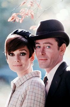 Audrey Hepburn & Peter O'Toole from How To Steal a Million