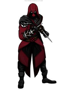 Assassin's Creed Deadpool (Two of my favorite things in one picture!)