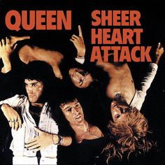 "Queen, Sheer Heart Attack**** (1974): It's pretty amazing to me how many songs from this early period of metal that Metallica has covered in the course of their careers. They've drawn upon Budgie, Black Sabbath, Blue Oyster Cult, and Queen. The song from this album is ""Stone Cold Crazy."" What further amazes me is that the Queen original rocks as hard as the Metallica cover. The range of this band (Queen) absolutely amazes me. 4/7/14)"