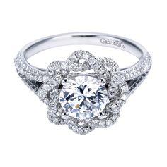 Gabriel & Co., engagement, engagement ring, diamond ring, bride, bridal, wedding, noiva, عروس, زفاف, novia, sposa, כלה