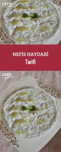 Yummy Haydari Recipe Video Recipe quickly our website . Sizler Yummy Haydari Recipe Video Recipe was added to our site quickly. Great Recipes, Soup Recipes, Dinner Recipes, Healthy Recipes, Mezze, Food Articles, Food Categories, Iftar, Food Videos