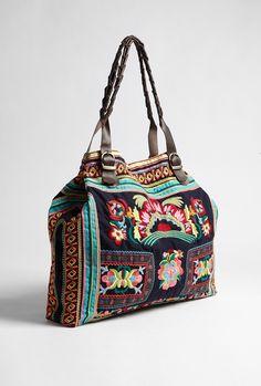 Kalaya Embroidered Navy Bag by Star Mela - Yeayy I got a similar ones too!