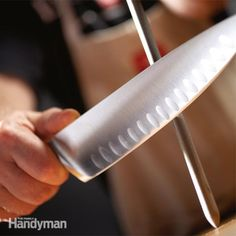 Sharpen knives quickly and keep them that way with two simple, inexpensive tools, several easy-to-learn techniques and a little practice. It'll make kitchen food preparation much quicker and easier too.