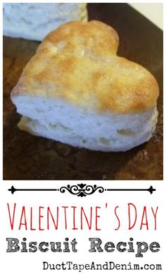 My special heart-shaped Valentines Day biscuits handmade for my daughter's breakfast along with her favorite sausage. Valentines Day Food, Valentine Treats, Valentine Recipes, Valentine Stuff, Homemade Biscuits Recipe, Biscuit Recipe, Recipe Box, Shapes Biscuits, Holiday Recipes