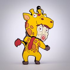Giraffe Kwang Soo USB Flash Drive- [Running Man]
