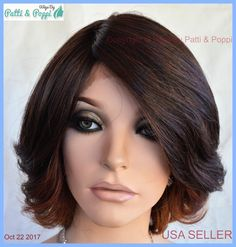 Lace Front Deep Lace Part Wig  Wavy Stunning  Color OM23033  US SELLER #Sepia #lacefront