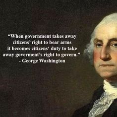 He actually said that! President Washington would meet fierce opposition if he were to speak his mind in today's political climate. #GeorgeWashington words still ring true albeit he would probably not be accepted by modern established political forces or the major news outlets. Even so he was a consummate field general an aristocrat who doted on his armed forces and a very human man of sensibility grounded in biblical moral statutes. He knew full well the advantages of an armed populace as…