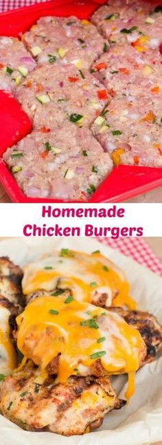 Homemade Chicken Burgers | Art and the Kitchen