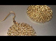 I have been making crochet jewelry for some time, but this video gave me all kinds of ideas for earrings & necklaces!