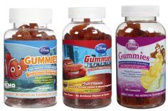 Introduce your children to the importance of nutrition with Disney Character Shaped Vitamins Gummy Multivitamins. pickvitamin.com