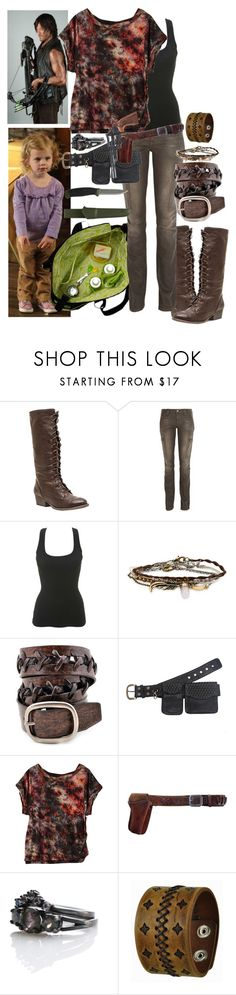 """The Walking Dead Season 5 Episode 10 (3)"" by werewolf-gurl ❤ liked on Polyvore featuring Wild Diva, Tory Burch, Miss Selfridge, Aéropostale, Anzell, Episode, Five and Diamond, Smith & Wesson and Nemesis"