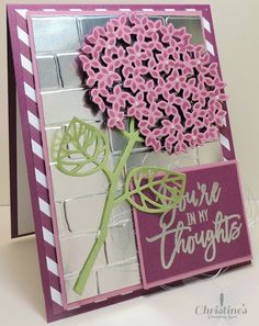 stampin up; thoughtful branches stamp set; stampin up's thoughtful branches stamp set; card making; crafting; Christine's Stamping Spot