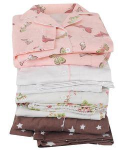 Brushed Cotton Flannel Pyjamas