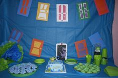 Monsters Birthday Party Ideas | Photo 5 of 16 | Catch My Party