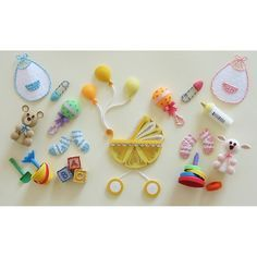 LAKE CITY CRAFT-Quilling Kit. These designs are great for birth announcements; photo cards; and scrapbooks. This package contains paper patterns and instructions for all of the items shown in the pict                                                                                                                                                      More
