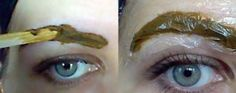 6 Easy Steps to Henna Your Eyebrows Yourself - See more at: http://foreverbeautifulblog.com/2014/07/27/6-easy-steps-henna-eyebrows/