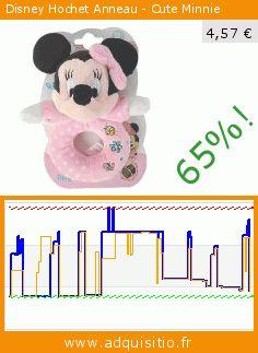 Disney Hochet Anneau - Cute Minnie (Jouet). Réduction de 65%! Prix actuel 4,57 €, l'ancien prix était de 12,89 €. https://www.adquisitio.fr/disney/5878597-hochet-anneau