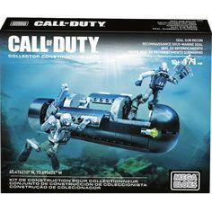 Mega Bloks Call of Duty Seal Sub Recon Set : $5.99 + Free S/H (reg. $20)  http://www.mybargainbuddy.com/mega-bloks-call-of-duty-seal-sub-recon-set-5-99-free-sh