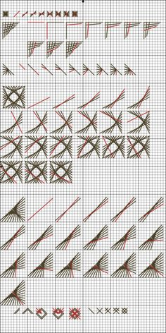 Gallery.ru / Фото #10 - Шовчики - BlueBelle Embroidery Designs, Embroidery Cards, Hardanger Embroidery, Cross Stitch Embroidery, Learn Embroidery, Embroidery Dress, Broderie Bargello, Bargello Needlepoint, Needlepoint Stitches