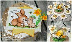 In drei Wochen ist Ostern und heute bauen wir uns Ostern in der Box, das etwas andere Osternest ...     Und dafür braucht Ihr neben den...