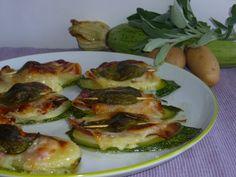 i saltimbocca di zucchine e patate, è una ricetta sfiziosa con zucchine, patate , formaggio e pancetta, per stupire i vostri ospiti per antipasto o secondo