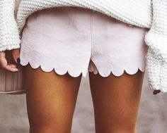 Fancy - Scalloped Shorts