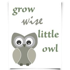 Wise Owl Free Printable