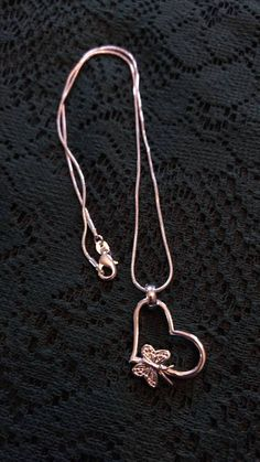 Check out this item in my Etsy shop https://www.etsy.com/listing/516299182/sterling-silver-chain-with-heart-pendant