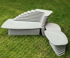 Get Out! Doble Paso Seating by Lucy Salamanca for Purapietra