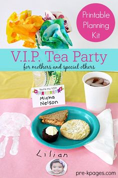 Perfect for a Mother's Day Tea Party celebration in your preschool or kindergarten classroom. Also allows for inclusion of kids who are not being raised by mom. - Pre-K Pages
