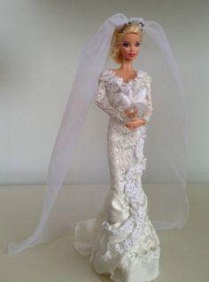 barbie wedding dress10