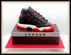 buy popular 82996 7e68b Air+Jordan+Cake+-+Sneaker+is+chocolate+cake+with