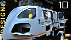 10 Teardrop and Mini-Campers for Your Outdoor Adventures (Top Picks) Small Camping Trailer, Small Camper Trailers, Small Travel Trailers, Off Road Camper Trailer, Small Campers, Vintage Travel Trailers, Rv Camping, Camping Trailers, Glamping