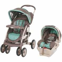 Shop for Graco Quattro Tour Deluxe SnugRide 35 Travel System in Maddox. Get free delivery On EVERYTHING* Overstock - Your Online Baby Gear Shop! Car Seat And Stroller, Baby Car Seats, Baby Girl Strollers, Baby Mine, Travel System, Traveling With Baby, Baby Gear, Future Baby, Baby Items