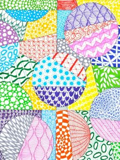 How to Zentangle- ho