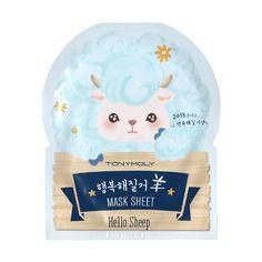 TONY MOLY Hello Sheep Mask Sheet (5EA)|Tony moly|Mask sheets|Online Shopping Sale Koreadepart