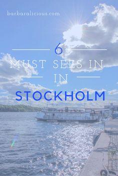 Stockholm – die wunderschöne Hauptstadt Schwedens hat viel zu bieten. Museen, Bootstouren, uvm. Hier findest du meine sechs Must Sees.