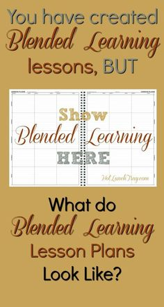 Learn more at Show Blended Learning in a Lesson PlanYou can find Blended learning and more on our website.Learn more at Show Blended Learning in a Lesson Plan Lesson Plan Examples, Lesson Plan Templates, Lesson Plans, Co Teaching, Teaching Strategies, Teaching Resources, Teaching Spanish, Teaching Kindergarten, Teaching Writing