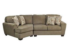 Similar to the Wilcot sofa we bought for the basement - Patola Park 2 Piece Sectional W/Laf Cuddler Chaise