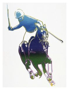 Polo Player by Andy Warhol allposters.com.au
